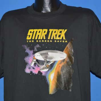 90s Star Trek Screen Saver Berkeley Systems t-shirt Extra Large