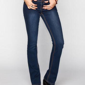 Rsq Austin Womens Bootcut Jeans Dark Blast  In Sizes