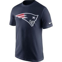New England Patriots Shirt Men's Nike NFL Essential Logo T-Shirt