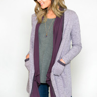 Jolene Draped Cardigan