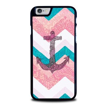 paisley tribal nautical anchor pattern iphone 6 6s case cover  number 1