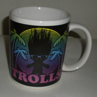 Trolls Crazy Hair Don't Care Coffee Mug