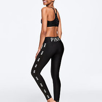 High Waist Ultimate Perforated Legging - PINK - Victoria's Secret