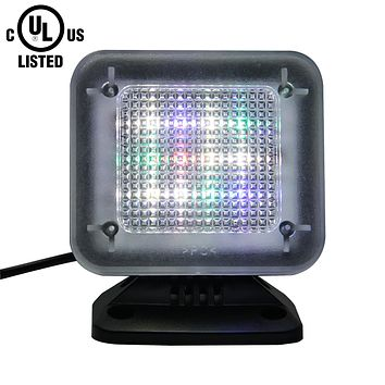 Indoor Fake TV Simulator with Extra Bright LED Light & Timer (UL Certified)
