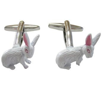 White Rabbit Hare Cufflinks
