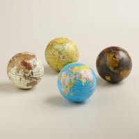 Sphere Globes,  Set of 4 - World Market