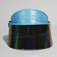 Light Blue Paparazzi Visor 2.0