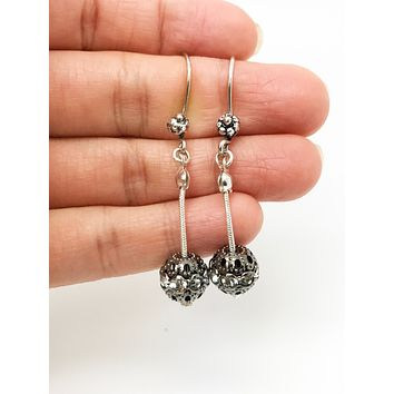 Silver Boho Dangle Earrings - Bohemian Drop Earrings
