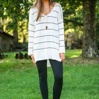 Cool, Calm & Collected Sweater-Ivory