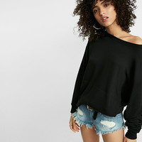 Express One Eleven Oversized Sweatshirt
