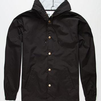 Standard Supply Slick Mens Windbreaker Black  In Sizes