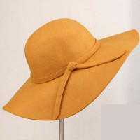 Solid Sun Hats For Women Beach Hats