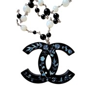 Chanel ✿*゚ 2010 Paris-Shanghai Jumbo Resin Necklace