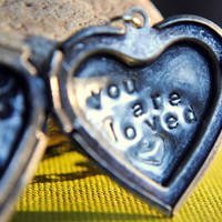 You Are Loved Locket
