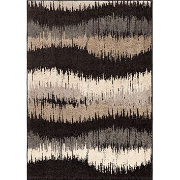 Orian American Heritage Brushed Waves Area Rug