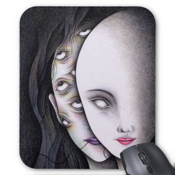 Eyes Mouse Pad