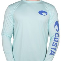 Performance Core Long Sleeve T-Shirt in Mint by Costa Del Mar