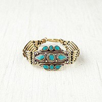 Vanessa Mooney  Moon Shield Large Bracelet at Free People Clothing Boutique