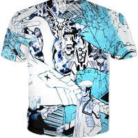 Comic Anime T-shirt