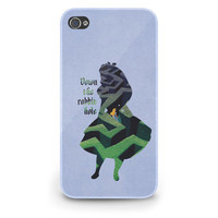 Alice in Wonderland Quote Disney - Hard Cover Case iPhone 5 4 4S 3 3GS HTC Samsung Galaxy Motorola Droid Blackberry LG Sony Xperia & more