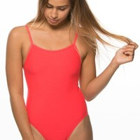Chevy Fixed-Back Onesuit - Strawberry