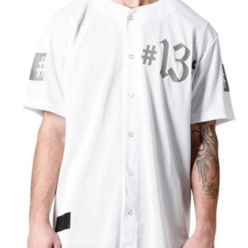 Been Trill Baseball Jersey - Mens Tee - White