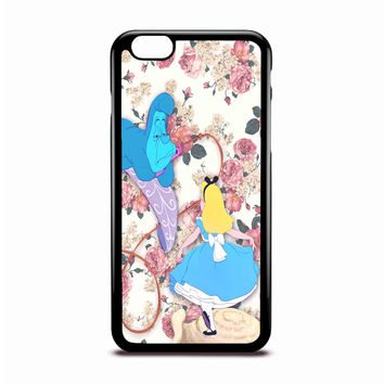 Alice In Wonderland Floral Disney Case Design For IPhone