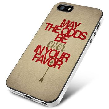 Hunger Games Quotes 3 iPhone 5   5S   5SE Case Planetscase.com