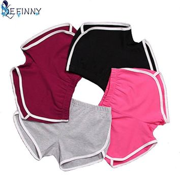 Shorts Women Shorts Workout Waistband Skinny Short