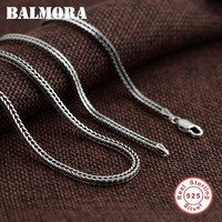 Mens 925 Sterling Silver Jewelry Chains Necklaces