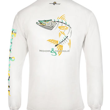 Men's Snookie X-Ray L/S UV Fishing T-Shirt