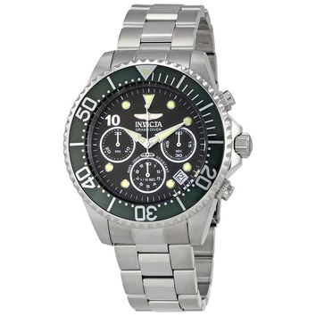 Invicta Pro Diver Chronograph Mother of Pearl  Dial Mens Watch 22035