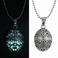 (LOA) Luminous Glow In The Dark Atlantis Gratitude Pendant