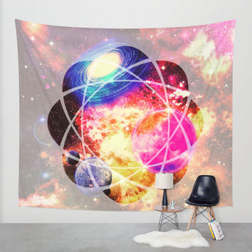 space bomb wall tapestry,planets wall tapestry,galaxy wall tapestry,universe wall tapestry,magical space wall tapestry,home decor,planets