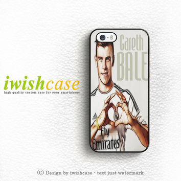 Gareth Bale 11 Caricature Real Madrid Fc iPhone 5 5S 5C Case Cover