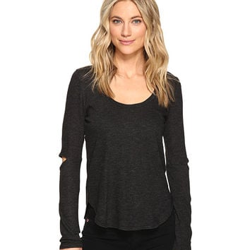 Lanston Cut Out Long Sleeve Tee