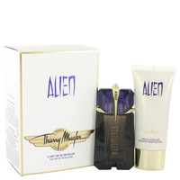 Alien Perfume by Thierry Mugler 2 oz Eau De Parfum Spray and 3.4 oz Body Lotion-Travel Offer