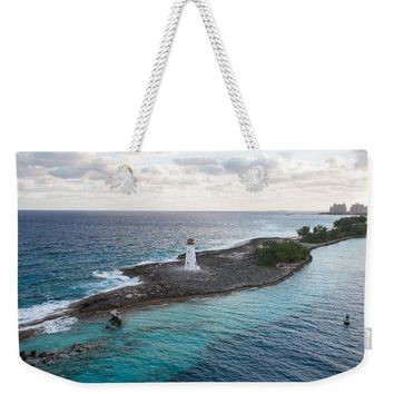 Hog Island Lighthouse - Weekender Tote Bag