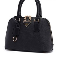 PU Leather Handbag Satchel Messenger