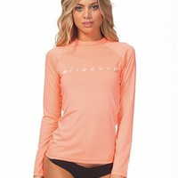 Rip Curl Dawn Patrol UV Tee Women's L/S Rashguard : Surf Station Onlin...