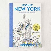Iconic New York Coloring Book: 24 Sights To Fill In And Frame By Emily Isabella