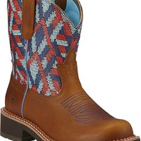 Ariat Fatbaby Heritage Vivid Camo Cowgirl Boots - Round Toe - Sheplers