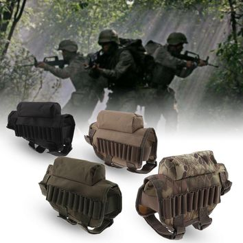 Portable Bullet Shell Pouch Military Molle Pouch Mesh Tools Accessory Pouches Tactical Waist Hunting Bags Outdoor Pocket