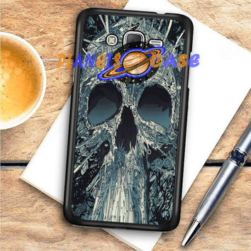 Abstract Skulls Artwork Samsung Galaxy J7 | J7 2016 Case Planetscase.com