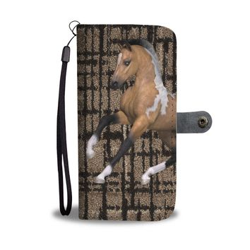 American Quarter Horse Print Wallet Case-Free Shipping