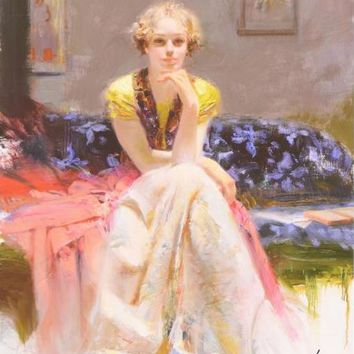 Enchantment - Limited Edition Giclee on Paper by Pino Daeni (1939-2010)