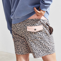 Insight Pink Leopard Board Short | Urban Outfitters