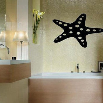 Starfish Sea Ocean Beach Nautical Wall Art Sticker Decal D205