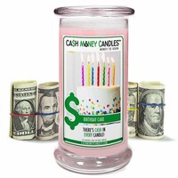 Birthday Cake | Cash Money Candle®