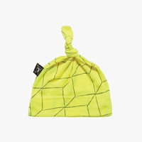 Nununu Grid Hat in Neon Yellow - NU0675